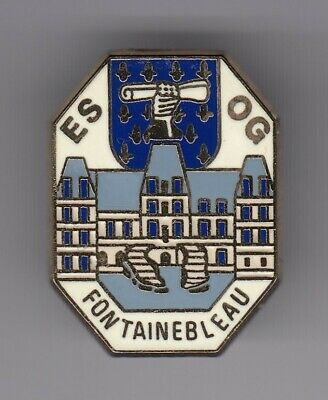 Rare Pins Pin's .. Gendarmerie Nationale Esog Chateau Fontainebleau 77 Bronze~El