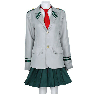 Unisex Women High School Gym Suit Cosplay Sportswear Role Play Costume Outfit #M