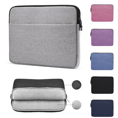 Laptop Sleeve Case Notebook Bag Cover For MacBook Lenovo HP Dell 11 13 14 15inch
