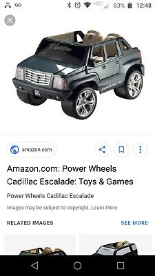 Power Wheels Cadillac Escalade >> Power Wheels Cadillac Escalade Fisher Price Electric Car