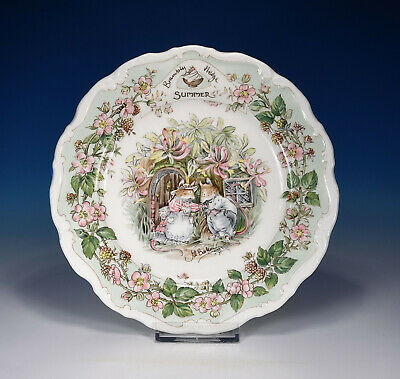 "Royal Doulton"" Brambly Hedge Verano"" Plato 20,8 CM"