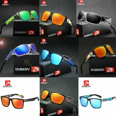 DUBERY Mens Polarized Sunglasses Driving Vintage Fashion Shades Glasses New