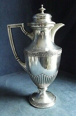 """Superb LARGE 13"""" ~ WMF ~ SILVER Plated ~ BULBOUS Juice / Water JUG ~ c1900"""