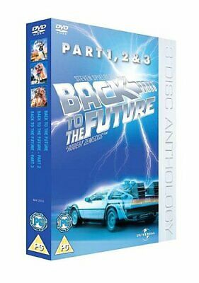 Back To The Future Trilogy [DVD] By Michael J. Fox,Christopher Lloyd,Steven S.