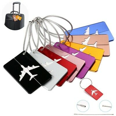 Suitcase Label Name Address ID Bag Baggage Tag Hot Travel Aluminium Luggage Tags