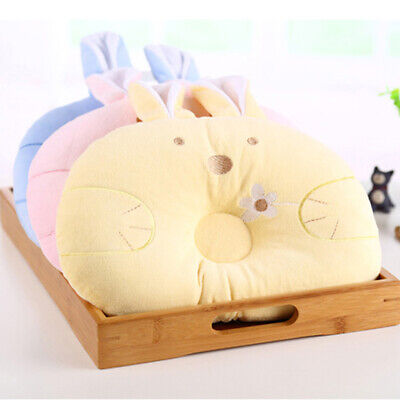 Infants Pillow Soft Neck Support Rabbit Shaped Baby Shaping Cotton Cushion BS