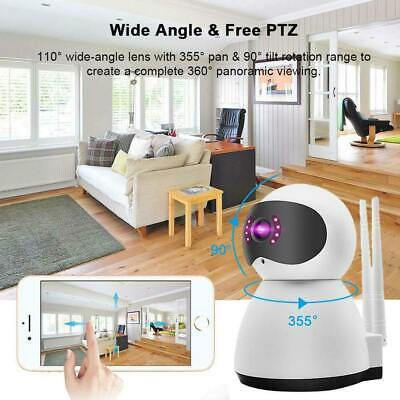 360° 1080P Wireless IP Home Security Camera Indoor CCTV Wifi Baby Monitor Cam