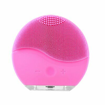 Electric Facial Cleansing Face Washing Brush Vibration Skin USB Pore Cleaner