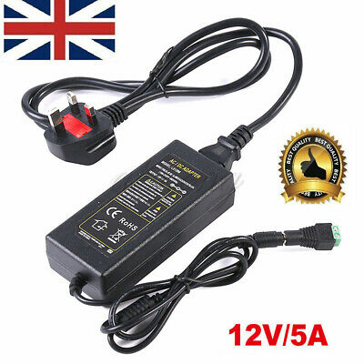 LED Power Supply Adapters transformer AC100-240V to DC 12V 2A 5A for Led Strip