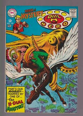 House of Mystery # 172  The H-Dial Monsters !  grade 8.5 scarce book !