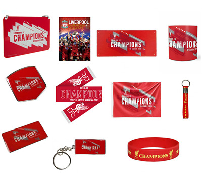 Liverpool F.C. Champions Of Europe - Official Football Club Merchandise