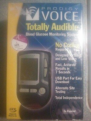 Prodigy Voice Audible Blood Glucose Monitoring System