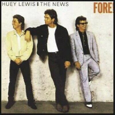 HUEY LEWIS & THE NEWS sealed FORE Chrysalis vinyl LP with HIP TO BE SQUARE