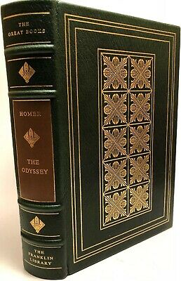 Franklin Library  Homer - The Odyssey  Great Books of Western World