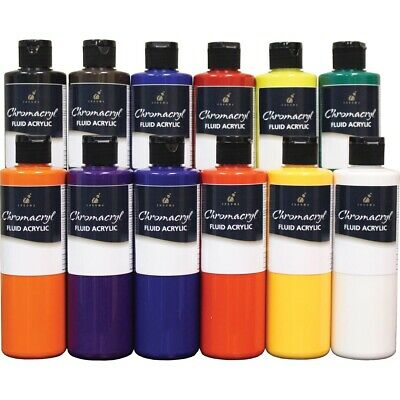 Chromacryl Fluid Acrylic Set