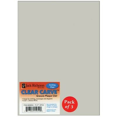 Richeson Clear Carve Etching Plates