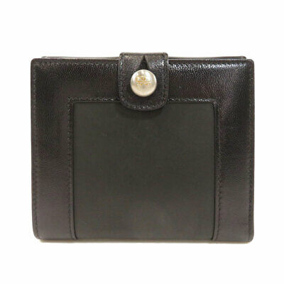 BALLY   Bifold Wallet with Coin Pocket Logo Hardware Leather