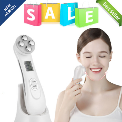RF RADIO FREQUENCY Facial LED Photon Skin Care Device Face Skin EMS