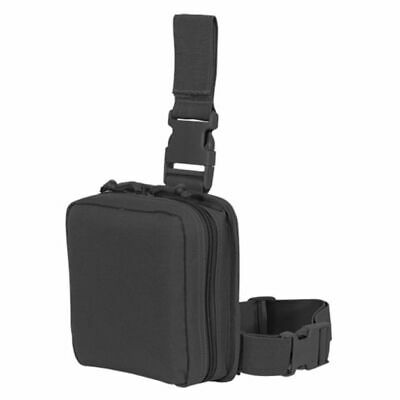 Voodoo Tactical Drop Leg First Aid Pouch, Black - 20-002001000 : 20-0020001000