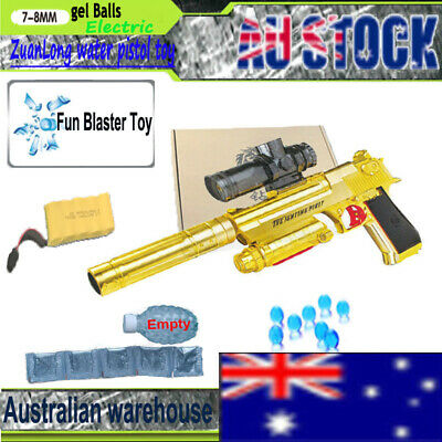 MP7 GEL BALL Blaster Toy Gelsoft Gun Water Bullet Outdoor