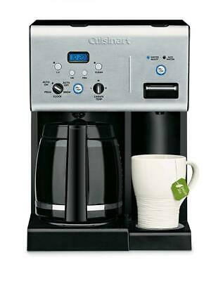 Cuisinart CHW-12C 12 Cup Programmable Coffeemaker and Hot Water System Silver