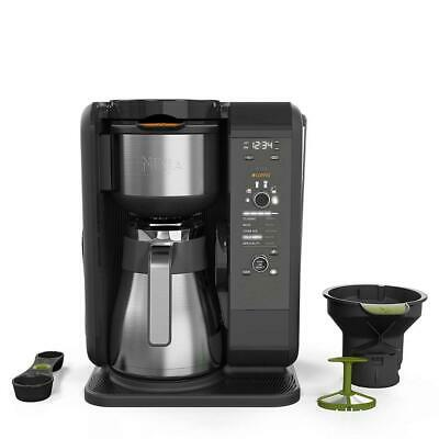 Ninja Hot and Cold Brewed System, Auto-iQ Tea Coffee Maker with 6 Brew...