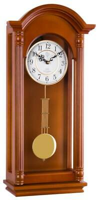 JVD N20123/41 - Wall Clock - Cherrywood - Pendulum Clock - New
