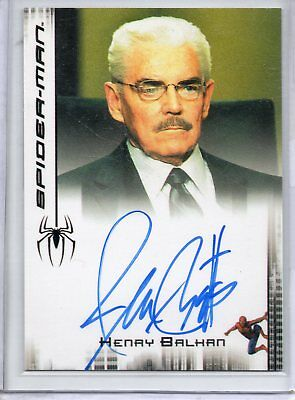 Spider-Man Film (Maguire) Autograph Figurina - Jack Betts come Henry Balcani