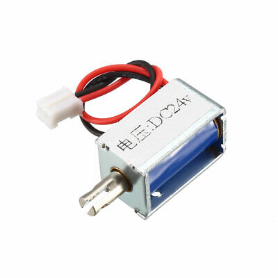 DC24V Pull Type Electric Solenoid Electromagnet Open Frame Actuator Linear