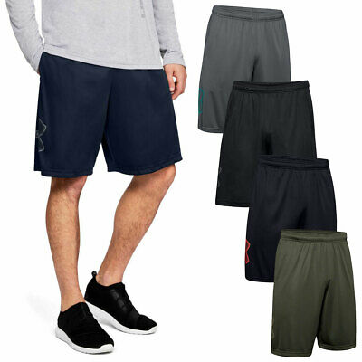 Under Armour Mens UA Tech Graphic Wicking Quick Dry Elasticated Shorts