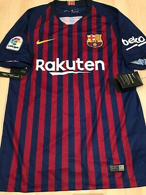 Barcelona 2018/19 Mens Nike Home Shirt 'COUTINHO 14' (Small)
