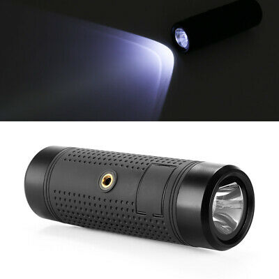 NEW CVAGW-B140 BLUETOOTH SPEAKER FEATURES AN INTERGRADED LED FLASHLIGHT AND .g.