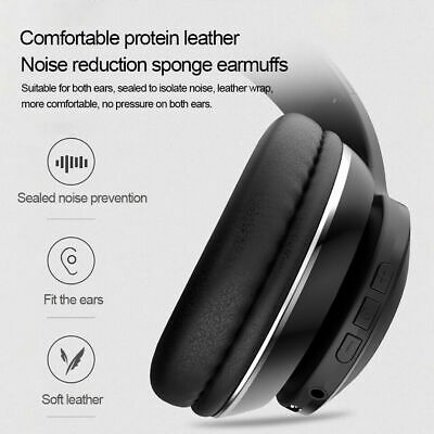 NEW PEL_07GGRI2Z OVER EAR WIRELESS BLUETOOTH STEREO NOISE CANCELLING HEADPHO.g.