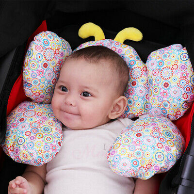 Infant Lovlely Cotton Support Pillows Car Cushion Pram Stroller Pad Headrest Z