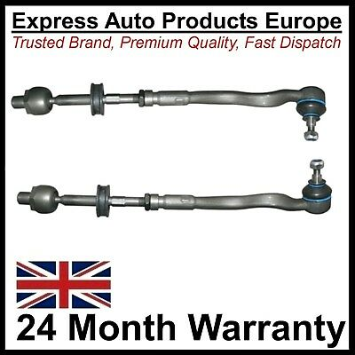 2 x Tie Rod complete LEFT & RIGHT BMW 32111139315 AND 32111139316