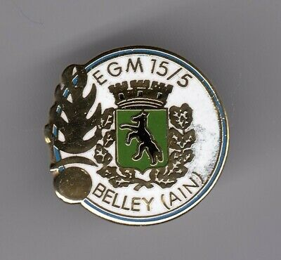 Rare Pins Pin's .. Gendarmerie Nationale Egm 15/5  Blason Loup Ain Belley 01 ~El