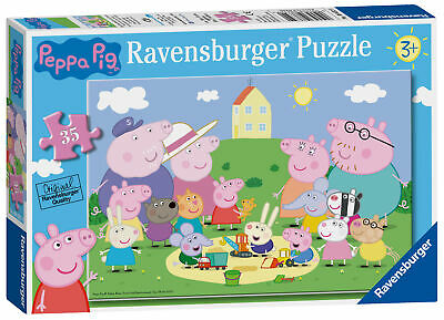 08632 Ravensburger Peppa Pig Jigsaw Puzzle Fun in the Sun 35pc Childrens Game