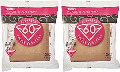 HARIO Hario V60 for the paper filter 02M 1 ~ 4 containing 200 sheets for the cup