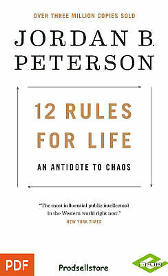 12 Rules for Life : An Antidote to Chaos by Jordan Peterson (READ DESCRIPTION)