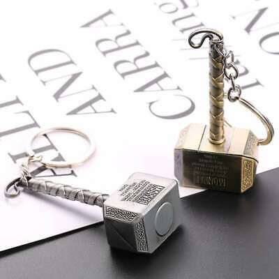 Fashion Marvel The Avengers Thor Thor's Hammer Metal Keyring Keychain
