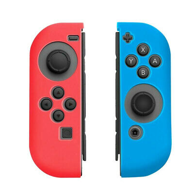 For Nintendo Switch Controller Silicone Cover Skins Antislip Case Accessories