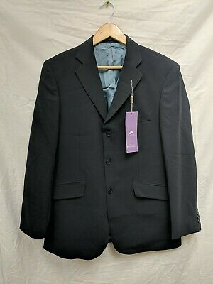 Marks And Spencer Mens Navy Blue Blazer Suit Jacket BNWT Size 40R #94B7