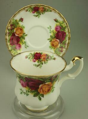 Royal Albert Old Country Roses Footed Demitasse Cup & Saucer Set GG13