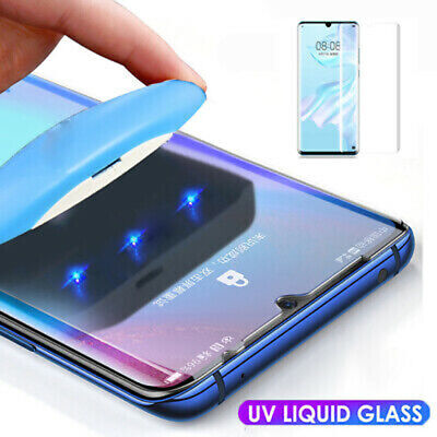 UV Liquid Full Screen Protector Film Tempered Glass For Huawei Mate20 P30 Pro