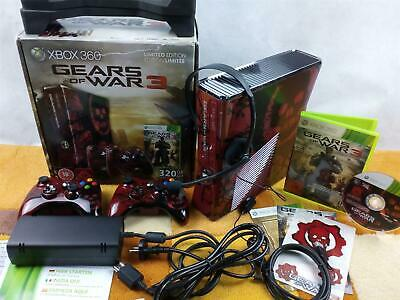 Microsoft Xbox 360 Gears of War 3 Limited Edition 320GB +Zubehörpaket 2 Co.+ OVP
