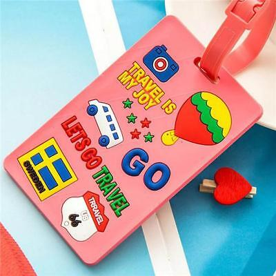 Colorful Luggage Tag Name Bag Card Holder Travel Suitcase Luggage Tags YO