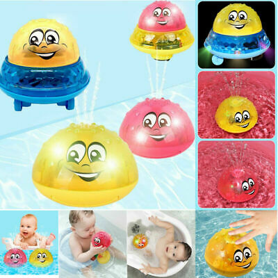 Funny Infant Electric Induction Water Spray Toy Children Baby Bath Shower Kids