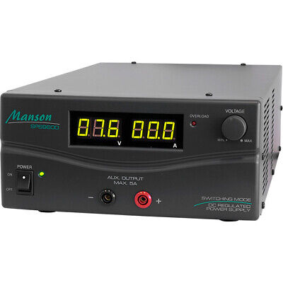 60Amp 1 15V Dc Power Supply Manson