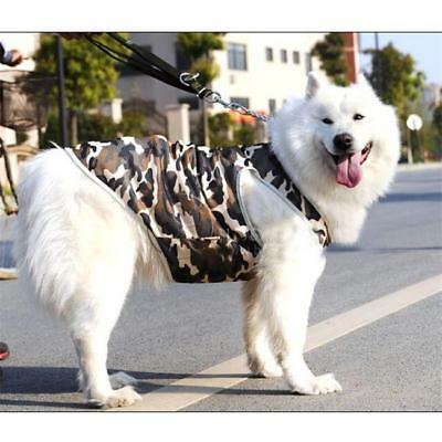 5 Sizes Camo Dog Breathable Mesh Singlet Puppy Pet Clothes T Shirt Breathable YO