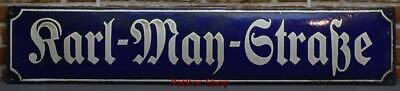 Antique German Metal Enamel Sign /4689